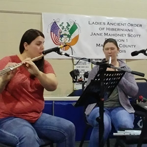 Celtica Traditional Music at Ladies Ancient Order of Hibernians
