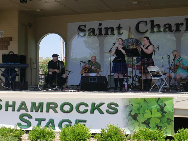 Celtica Traditional Music at Shamrock Stage Band